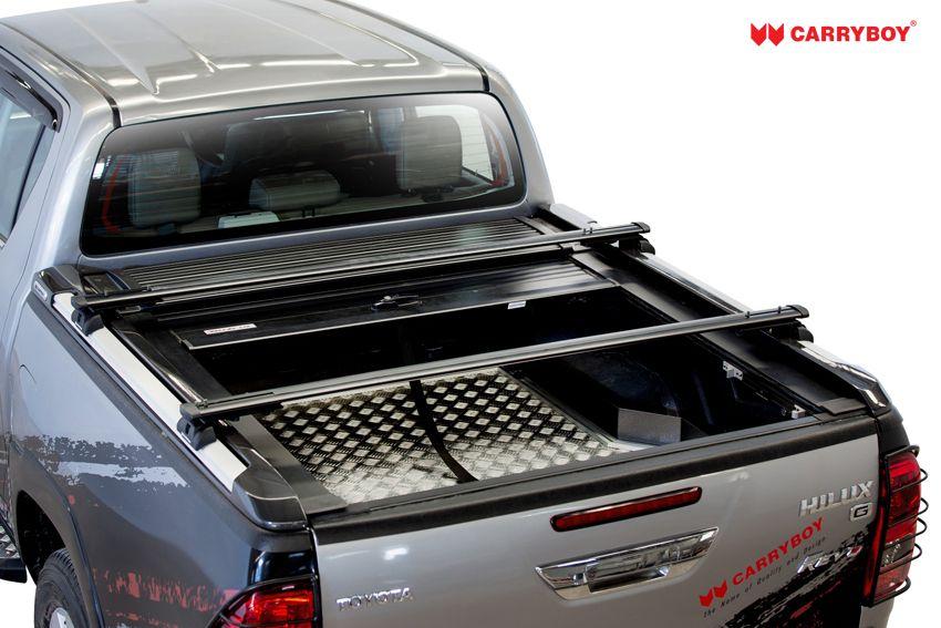 Carryboy Laderaumabdeckung Aluminiumrollo mit Querträgersystem 789F-TRD