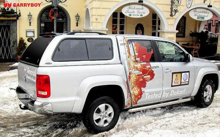 Carryboy Hardtop mit Schiebefenster 560-VWAD