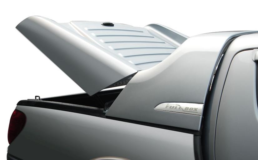 CARRYBOY Deckel mit Gasfedern und Überrollbügel lackiert Fullbox Tyoota Hilux Vigo Doppelkabine 2005-2015