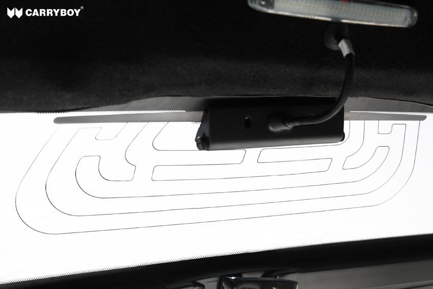 CARRYBOY Design Hardtop Pickup Aufbau Heckscheibenheizung+Innenlicht S6_BXD