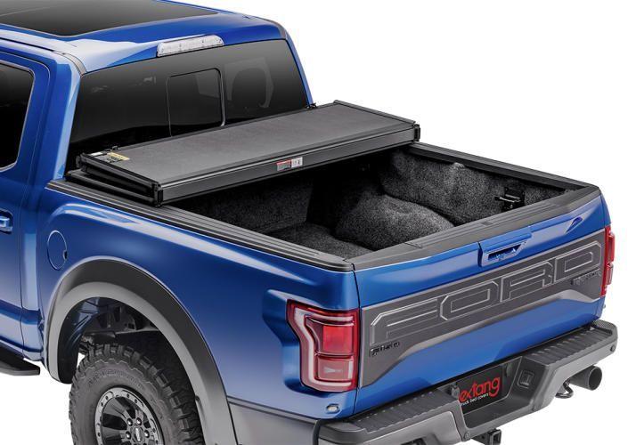 NOVISauto Laderaumabdeckung Faltbar Überkante Ford F150 2015-2020 offen fahrbar