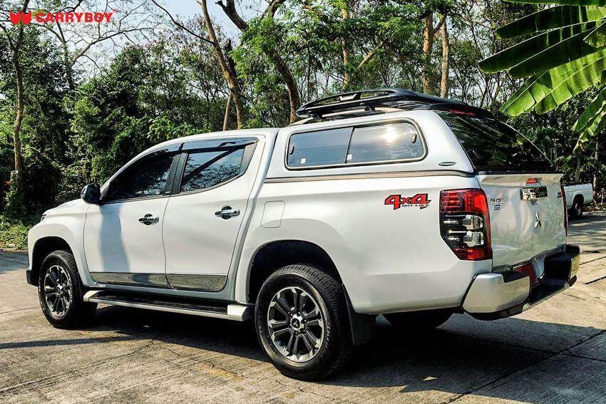 CARRYBOY Hardtop mit Schiebefenster 560-MND Mitsubishi L200 Doppelkabine 2016+ sicher abschließbar