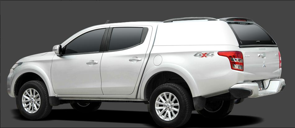 CARRYBOY Hardtop geschlossene Seiten Fiat Fullback Doppelkabine Zubehör