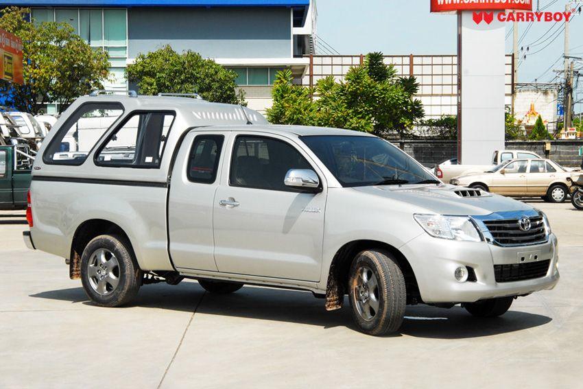 CARRYBOY Hardtop Überhoch Toyota Hilux Vigo Extrakabine 2005-2015 Lackierung in Wagenfarbe