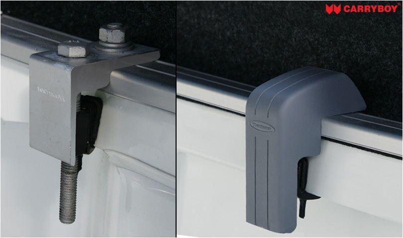 CARRYBOY Ford Ranger Extrakabine Hardtop Installation ohne Bohren