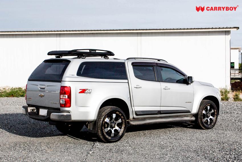 CARRYBOY Dachgepäckkorb 550 auch auf Hardtop montierbar