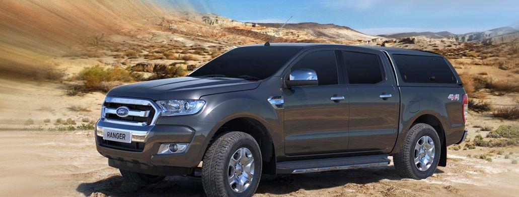 Ford Ranger Hardtop mit Glasklappen Carryboy