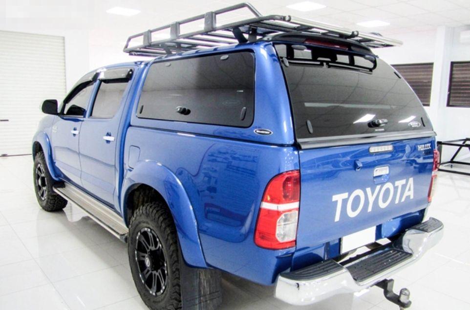 Carryboy Hardtop mit Glasklappen für Toyota Hilux optional Dachgepäckträger