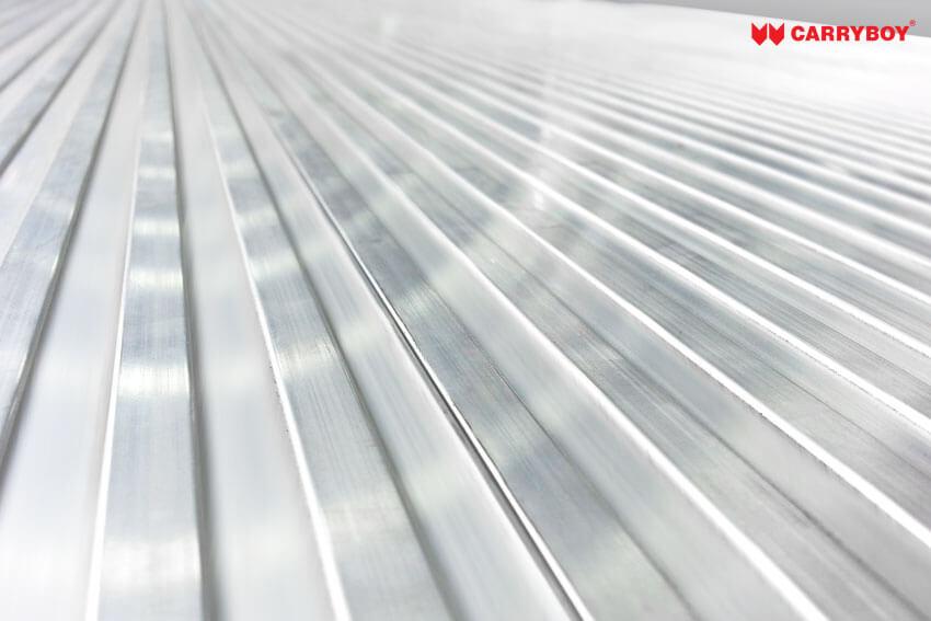 Aluminium Profilboden - rutschfest