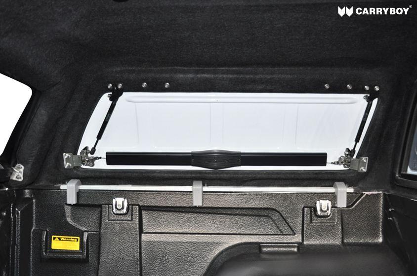 Carryboy Hardtop SOK Ford Ranger Doppelkabine 05-11 mit seitlichen Klappen aus GfK