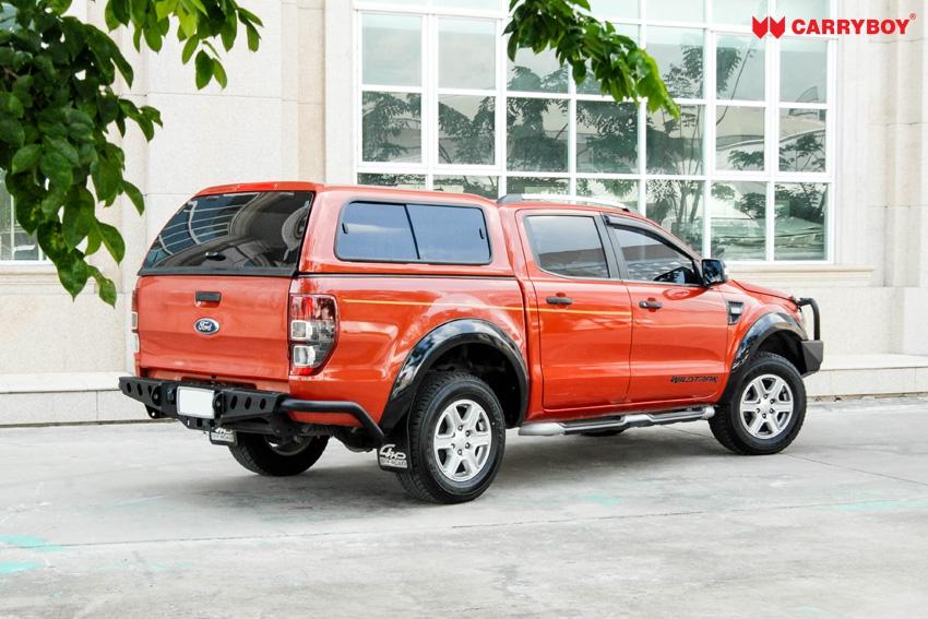 CARRYBOY Hardtop mit Klappfenster und Schiebefensterkombination Fiat Fullback Doppelkabine langjährige Ersatzteilverfügbarkeit