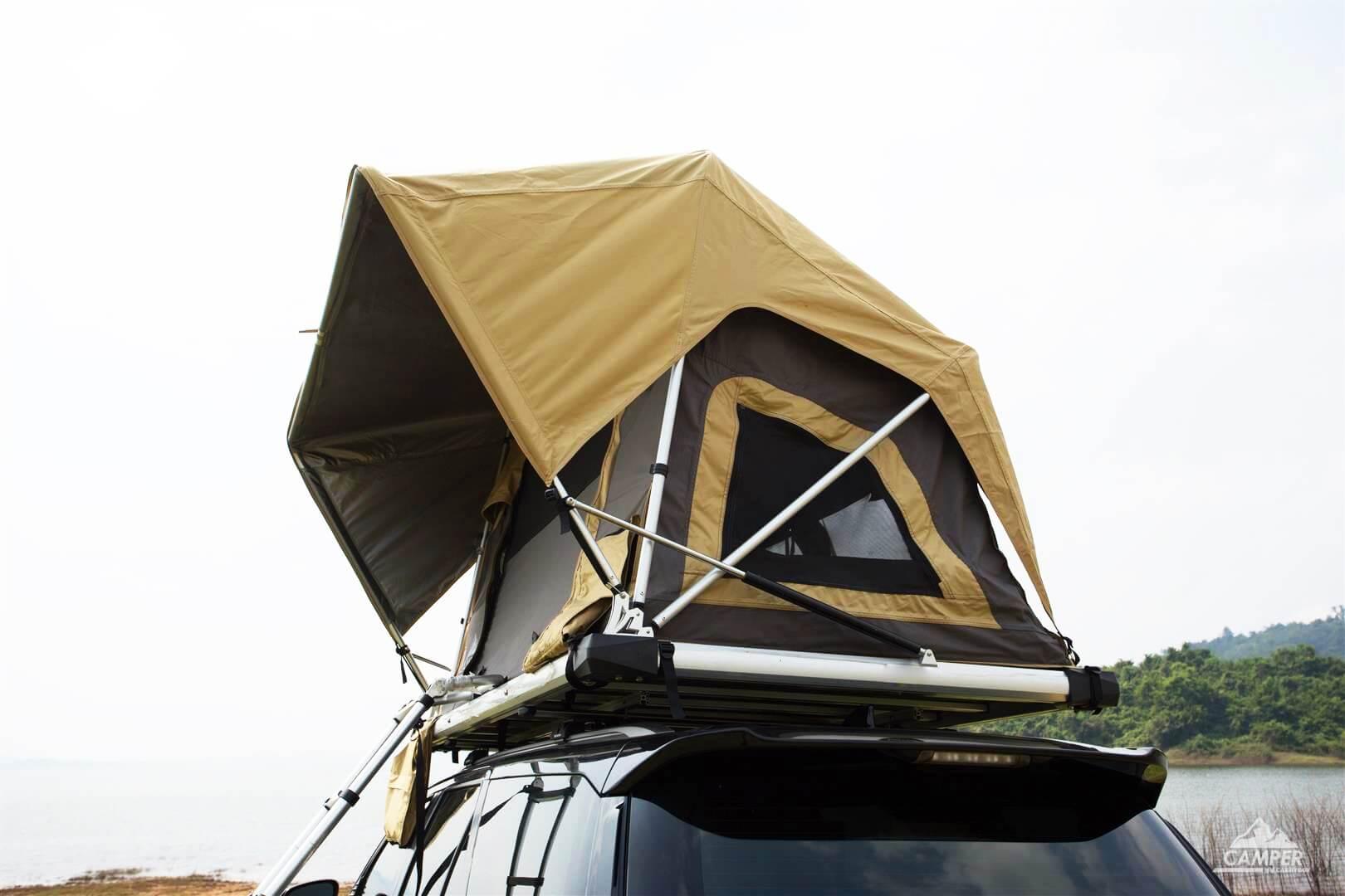 Carryboy Camper Dachzelt für 2 bis 3 Personen für alle Fahrzeuge automatisch entfaltend