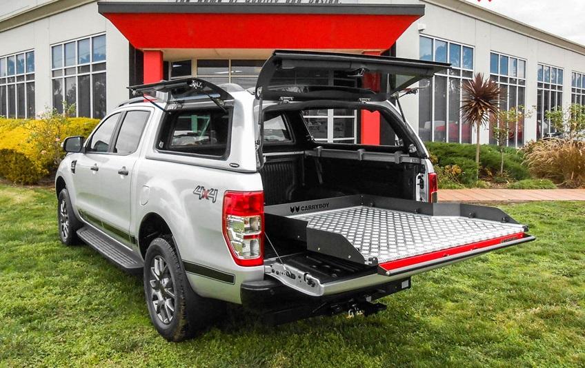 Ford Ranger Hardtop Carryboy offene Fenster