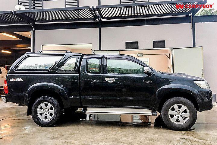 CARRYBOY Hardtop mit Schiebefenster Toyota Hilux Vigo Extrakabine 2005-2015 Qualität und Design