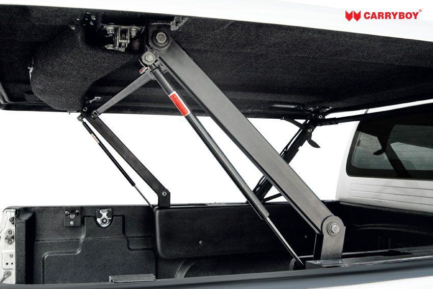 CARRYBOY Laderaumabdeckung Pickup mit Motorhub SMX Deckel auf Kabinenhöhe einstellbar stabbiler Scherenhub