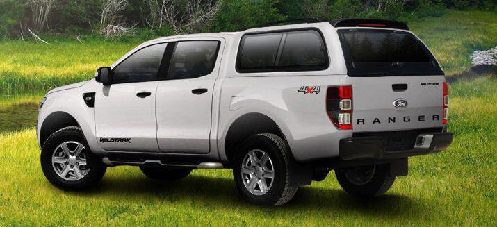 CARRYBOY Hardtop Schiebefenster Ford Ranger Doppelkabine 02-11 vom Weltmarktführer