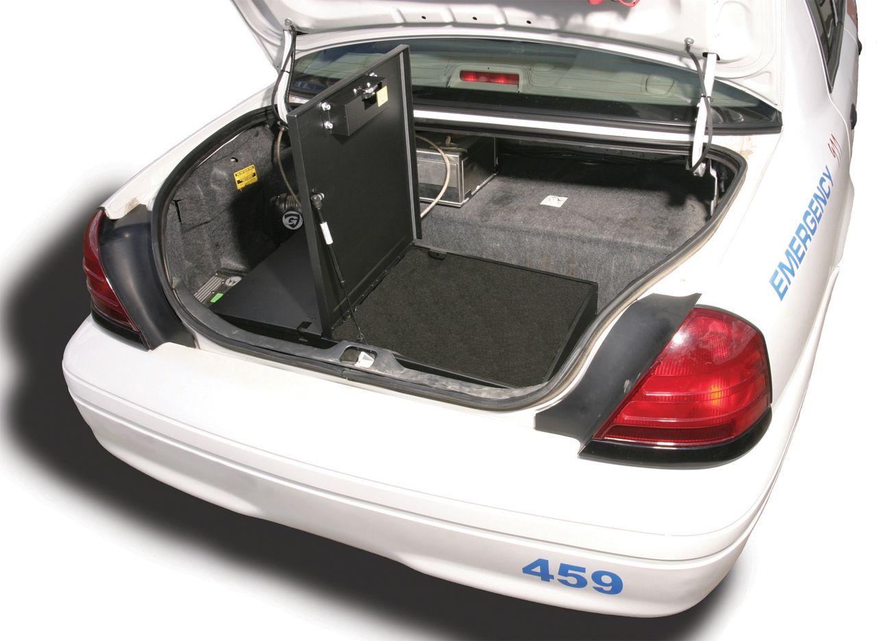 NOVISauto Kofferraum Sicherheitsbox Gewehrbox und Waffentresor Fahrzeuge Polizeiauto 253