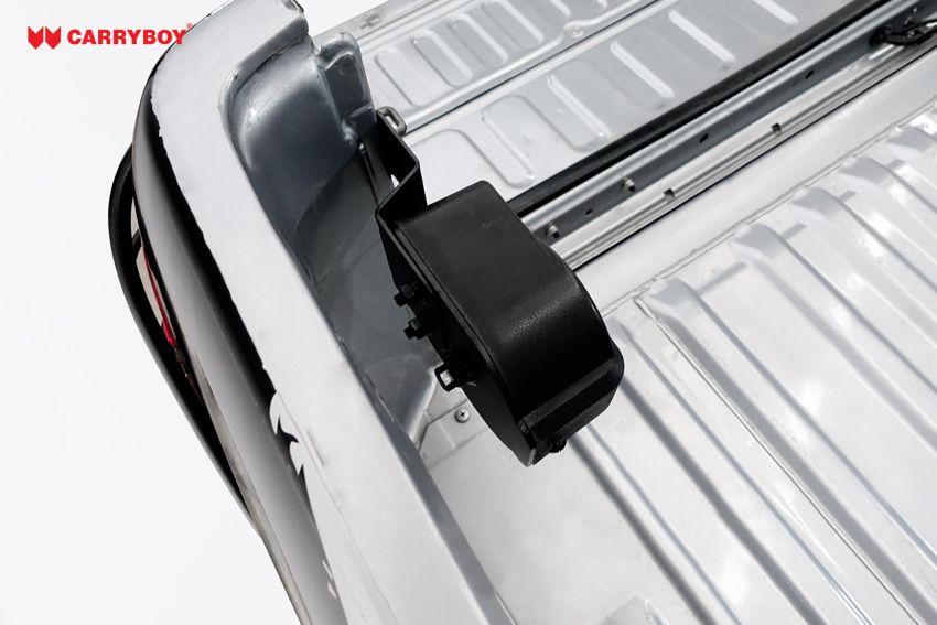 CARRYBOY Heckklappendämpfer Seilzug Ford Ranger Kraft beim Öffnen und Schließen Platzsparend