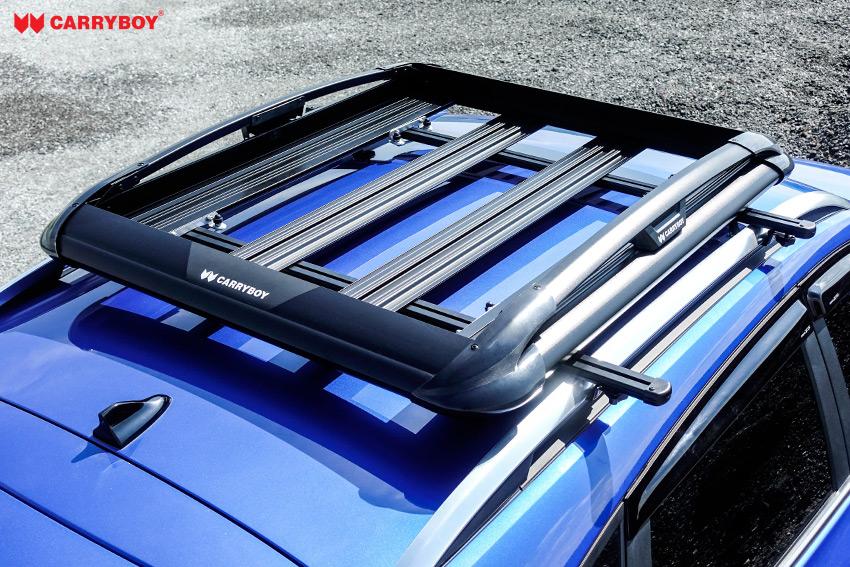 CARRYBOY Dachgepäckkorb 550N mattschwarz stark belastbar