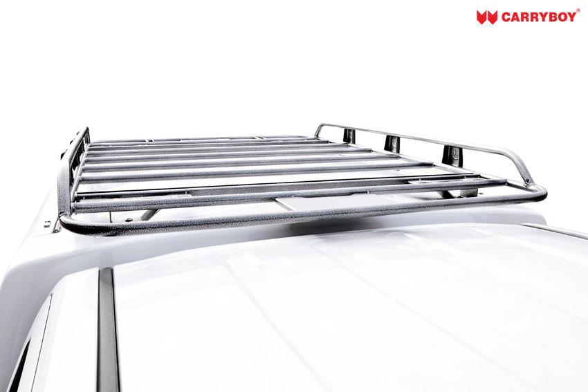CARRYBOY Dachlastträger für Hardtop oder Kofferaufbau Dachträger Flachprofil Einzelkabine