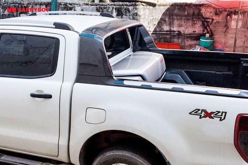 CARRYBOY Transportbox Staubox für Pickup Ladefläche Standardmaß CB-704 Frontöffnung