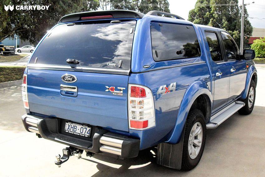 CARRYBOY Hardtop mit Klappfenstern Ford Ranger Doppelkabine 05-15 Zubehör Ersatzteile