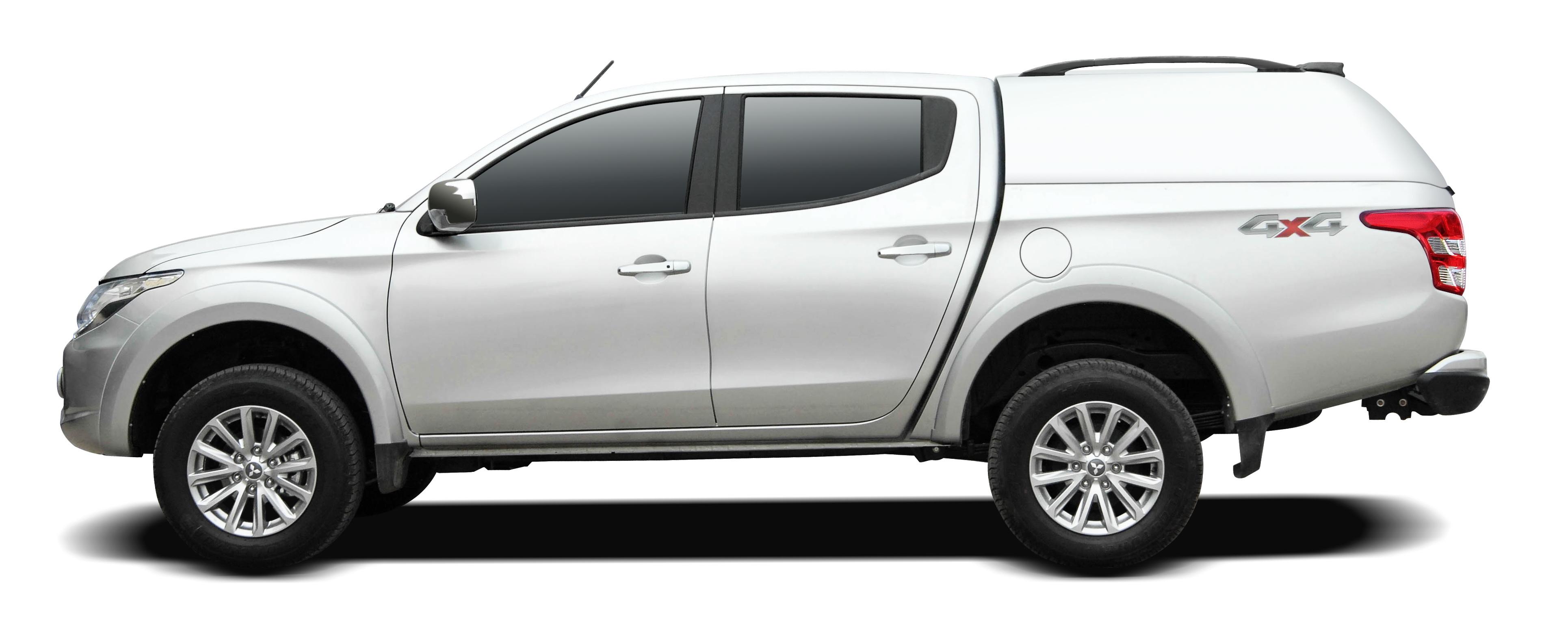 CARRYBOY Mitsubishi L200 Doppelkabine 16+ Zubehör Hardtop ohne Seitenfenster