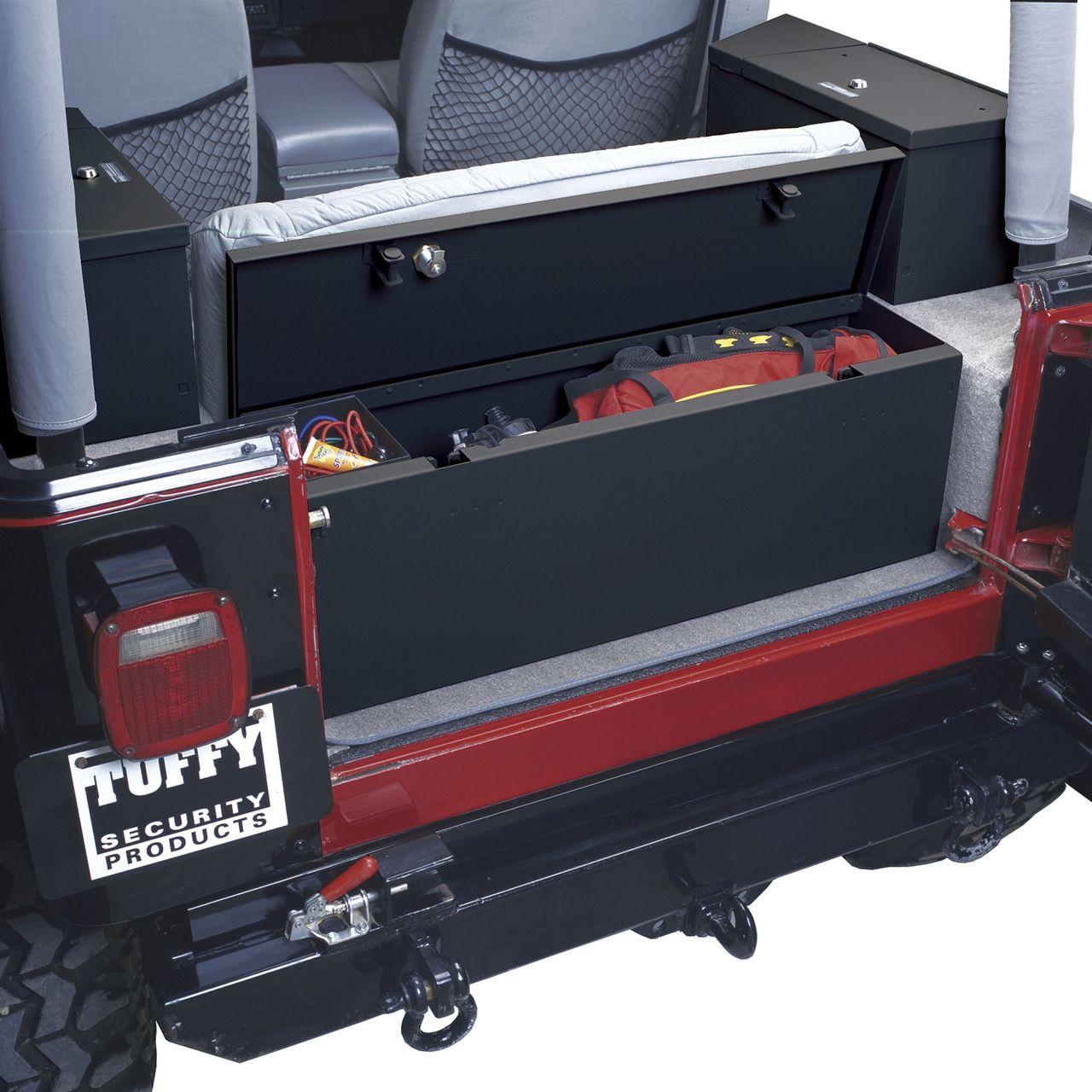 NOVISauto Sicherheitsbox Autotresor Kofferraum universal Wertsachentresor für Fahrzeuge Stahl offen